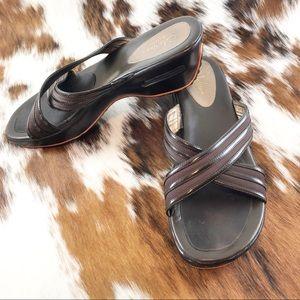 Cole Haan Nike Air G-Series slide wedge sandal 8.5